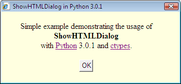 HTML dialog screenshot